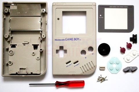 Original DMG Game Boy Replacement Housing Shell Kit
