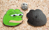 Pepe the Frog - Sad Face - Enamel Pin Badge-Cool Spot Gaming-Cool Spot Gaming