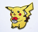 Pikachu & Pokeball Embroidery Patch-Embroidery Patch-Cool Spot's Gaming Emporium-Cool Spot Gaming