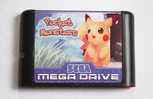 Pocket Monsters Mega Drive/Genesis Game