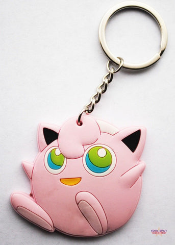 Pokemon Keyring - Jigglypuff Design