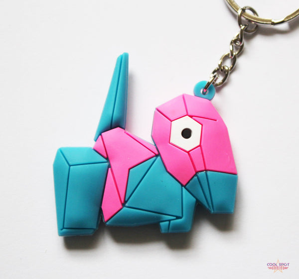 Pokemon Keyring - Porygon