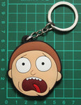 Rick and Morty PVC Double-Sided Keychain - Morty