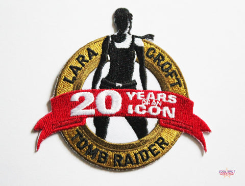 Rise of the Tomb Raider: 20th Anniversary - Limited Edition Iron On Patch-Cool Spot Gaming-Cool Spot Gaming