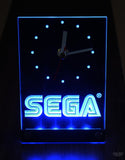 Sega 3D Engraved LED Desk Clock