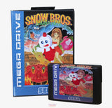Snow Bros Nick & Tom - Mega Drive/Genesis - Region Free (Reproduction)