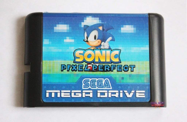 Sonic Pixel Perfect - Mega Drive/Genesis Game