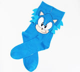 Sonic the Hedgehog Novelty Unisex Socks