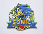 Sonic the Hedgehog (Sonic Adventure - Dreamcast) Embroidery Patch-Embroidery Patch-Cool Spot's Gaming Emporium-Cool Spot Gaming