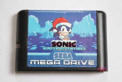 Sonic Winter Adventures - Mega Drive/Genesis Game