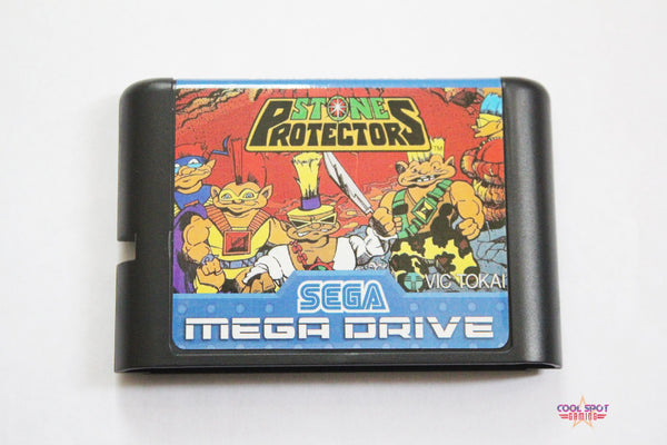 Stone Protectors (Unreleased) - Mega Drive/Genesis Game (NTSC/USA)