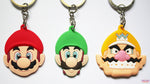 Super Mario Keyrings - Mario Brothers Trio!