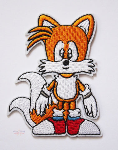 Tails Embroidery Patch-Embroidery Patch-Cool Spot's Gaming Emporium-Cool Spot Gaming
