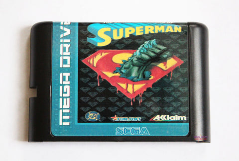 The Death and Return of Superman - for Mega Drive/Genesis (Reproduction)