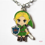 "The Legend of Zelda: Link Pendant Necklace - 18"" Chain"