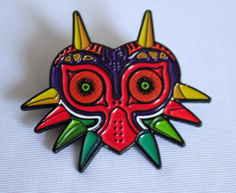 The Legend of Zelda - Majora's Mask Metal Pin Badge-Cool Spot's Gaming Emporium-Cool Spot Gaming