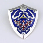 The Legend of Zelda Shield Pin Badge-Cool Spot's Gaming Emporium-Cool Spot Gaming
