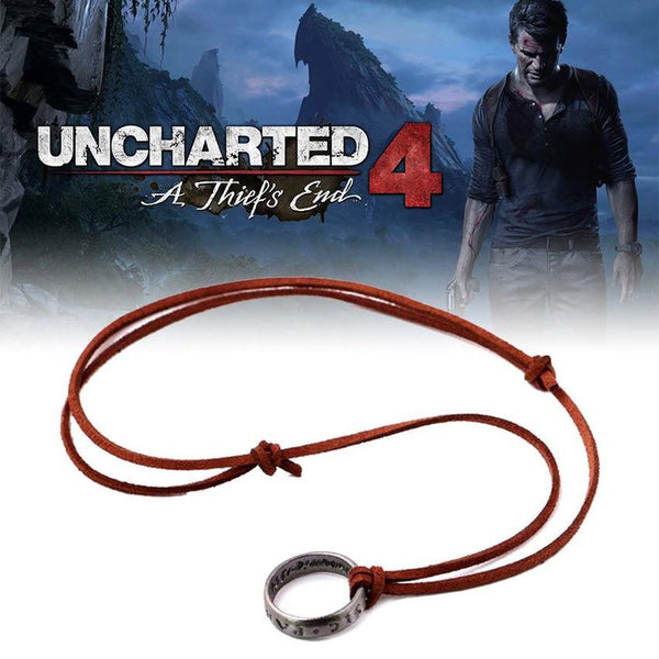 Uncharted 4 A Thief S End Nathan Drake S Ring Necklace Cool Spot