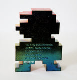 World of Nintendo - Series 5 - Super Mario Bros - 8 Bit Mario Figure