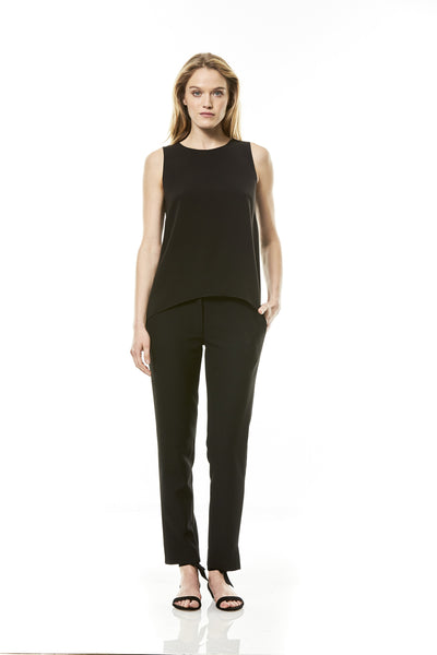 RE|18 - Angelina Top - BLACK