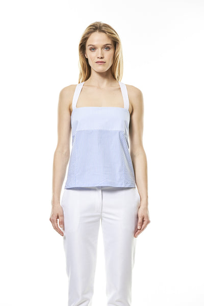 RE|18 - Monica Top - Blue