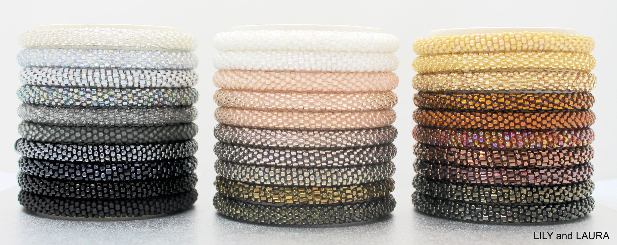 ombre bracelet neutral stack
