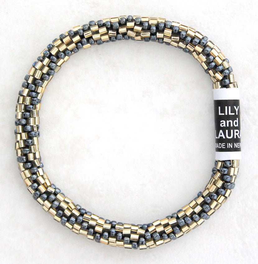 Cut Gold and Hematite Chainlink