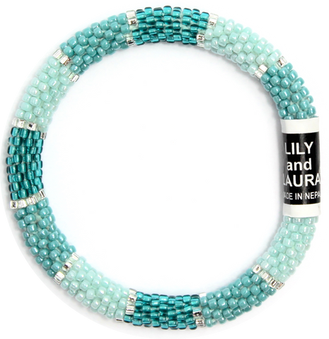 Lily and Laura Modern Turquoise