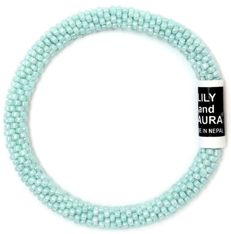 Lily and Laura Blue Mint Solid