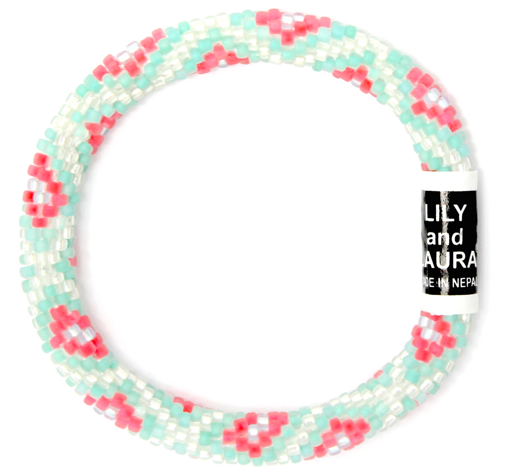"8"" Extended Size Lily and Laura Aloha Kaleidoscope"