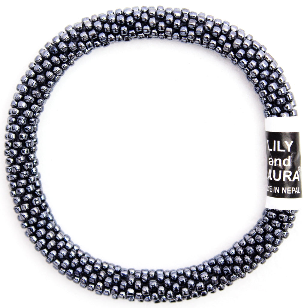Lily and Laura Hematite Solid