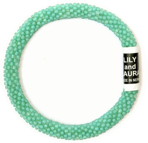 Lily and Laura Matte Blue Mint