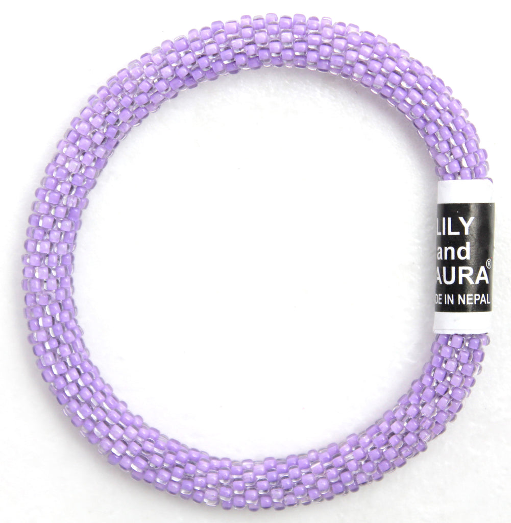 Clear Lavender Solid