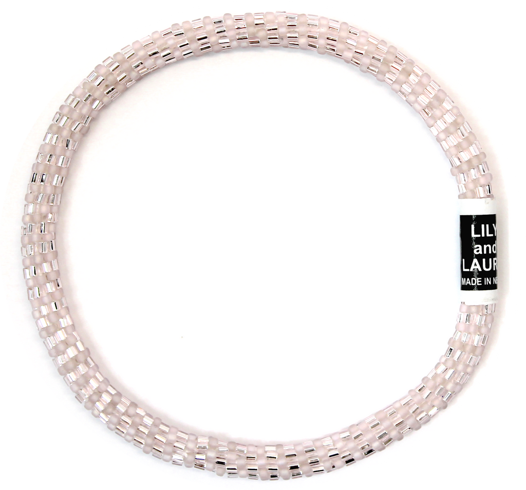 Lily and Laura Pink Champagne Anklet