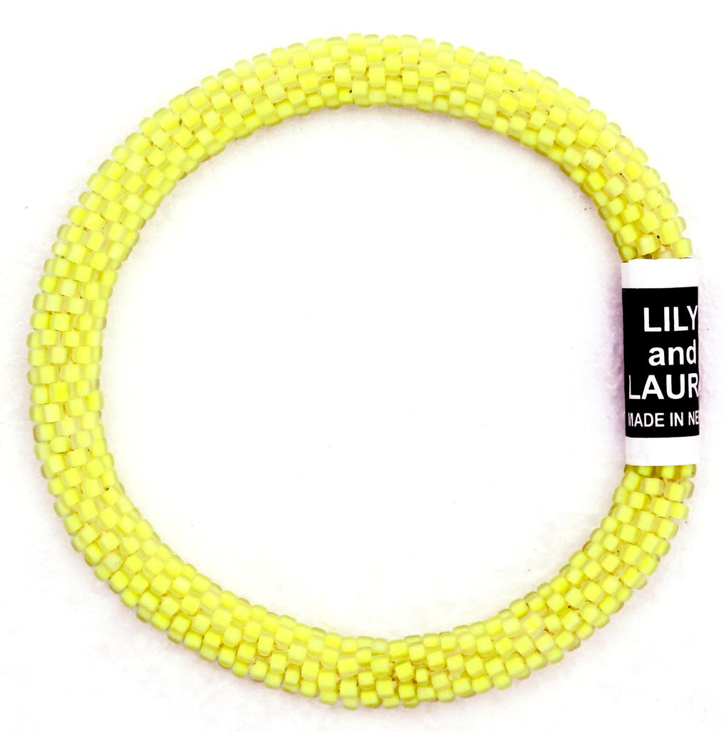 Lily and Laura Matte Neon Yellow