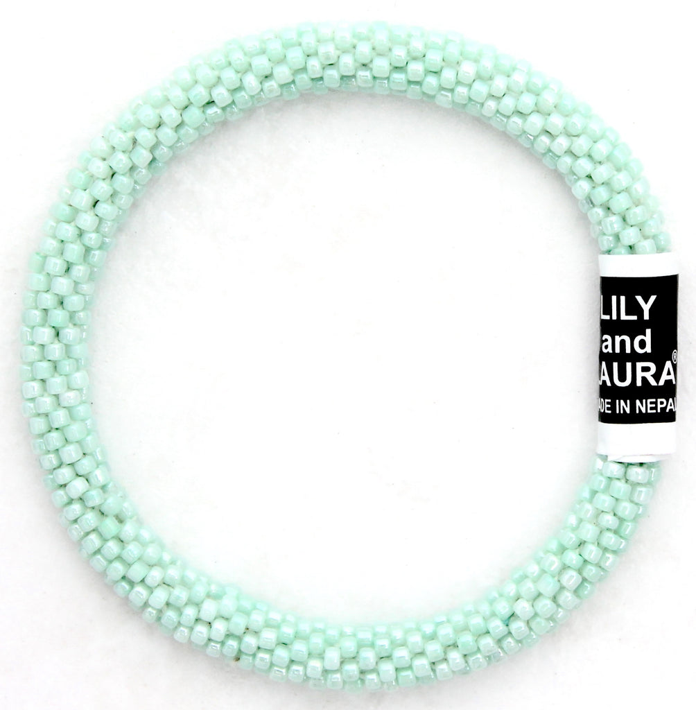 Lily and Laura Light Mint Solid