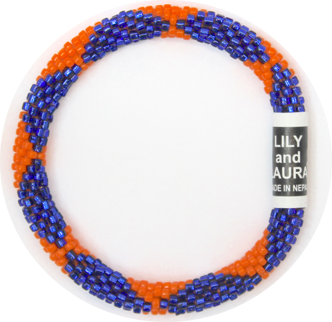 Blue and Orange Big Diamonds