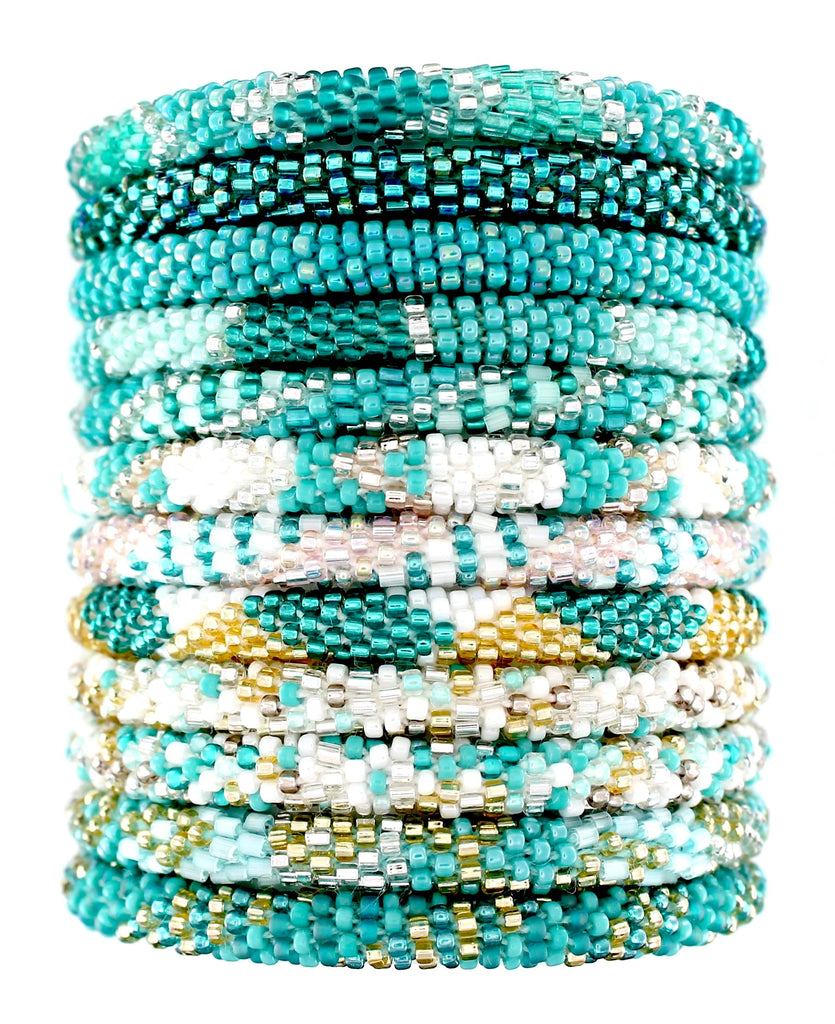 Turquoise Assortment of 12