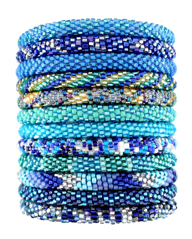Ocean Blue Assortment of 12