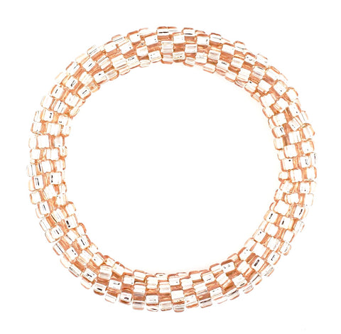 Lily and Laura Rose Gold Mega Bead