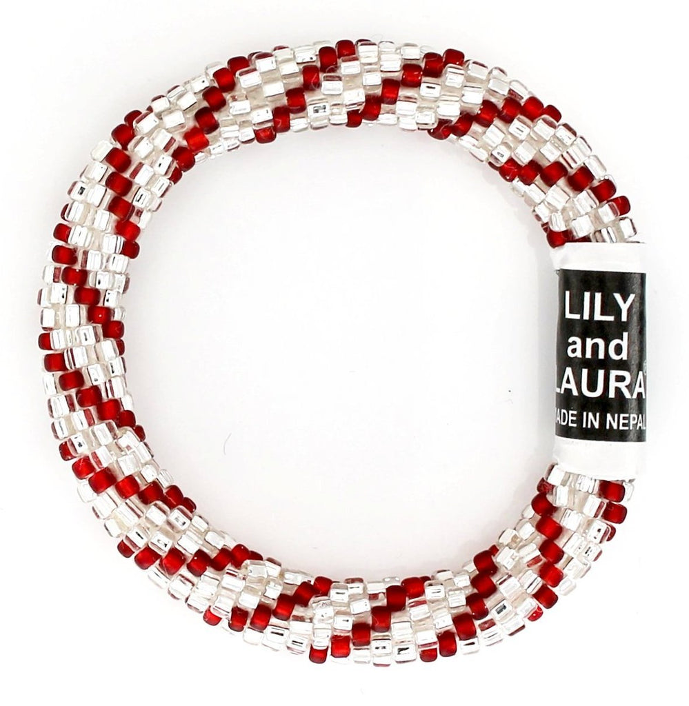 Lily and Laura Silver Candy Cane Mini