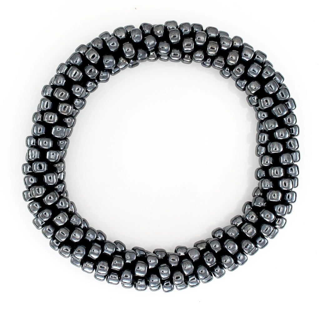 Lily and Laura Hematite Mega Bead