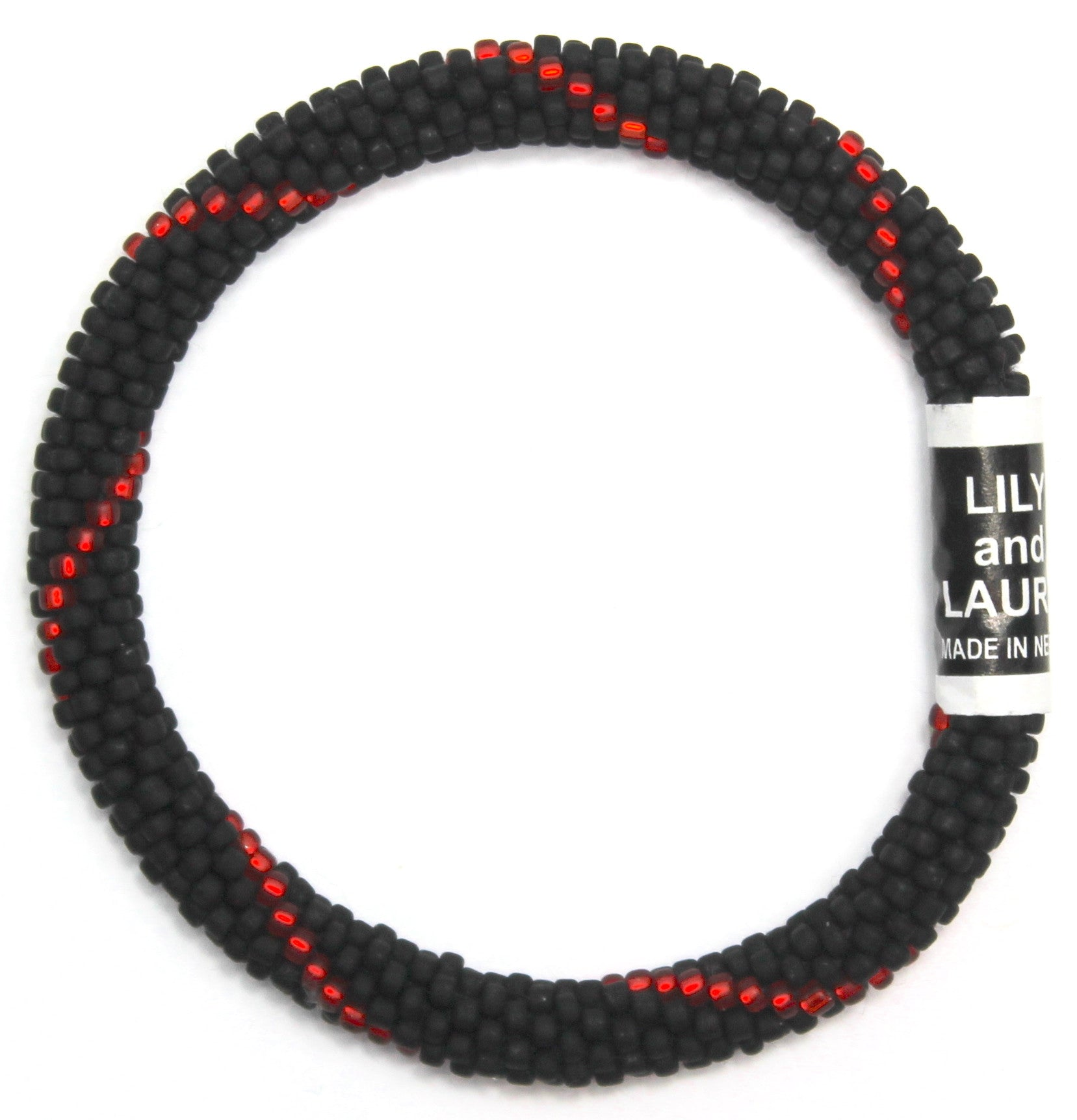 The Thin Red Line All Matte Beads