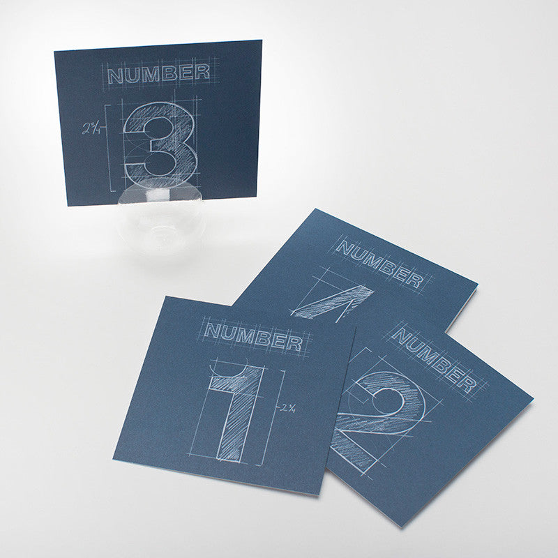blueprint table numbers 15