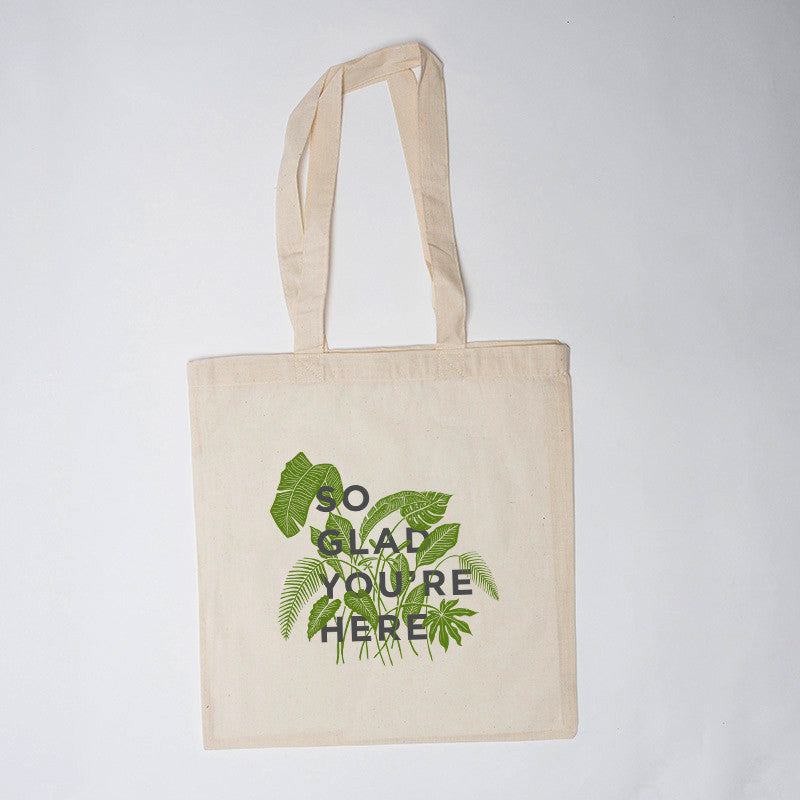 1621f89afc1f So Glad You re Here Bag (10) - Pressed Cotton