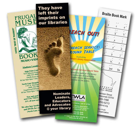 Premium Bookmarks - Thick & Sturdy 16pt