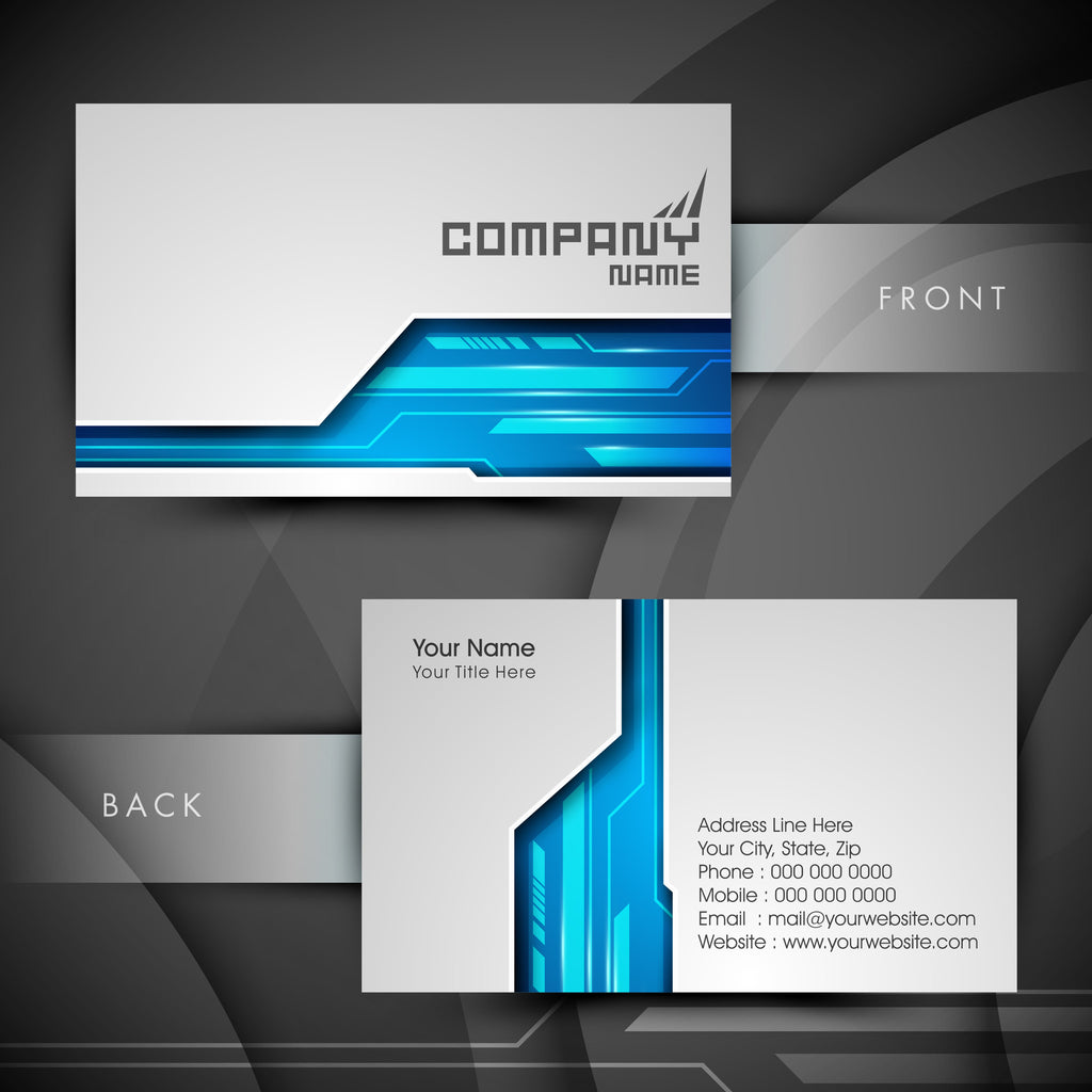 Standard Business Cards – MM Print Shop