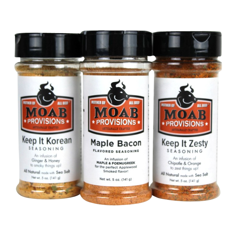 Best Selling All Natural Seasoning Combo Pack, - MOAB Provisions
