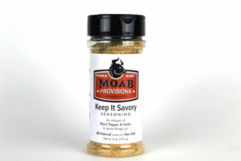 Keep It Savory Seasoning | All Natural, - MOAB Provisions