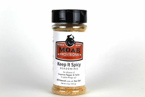 Keep It Spicy Seasoning | All Natural, - MOAB Provisions